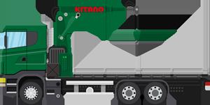 重量物運搬トラック